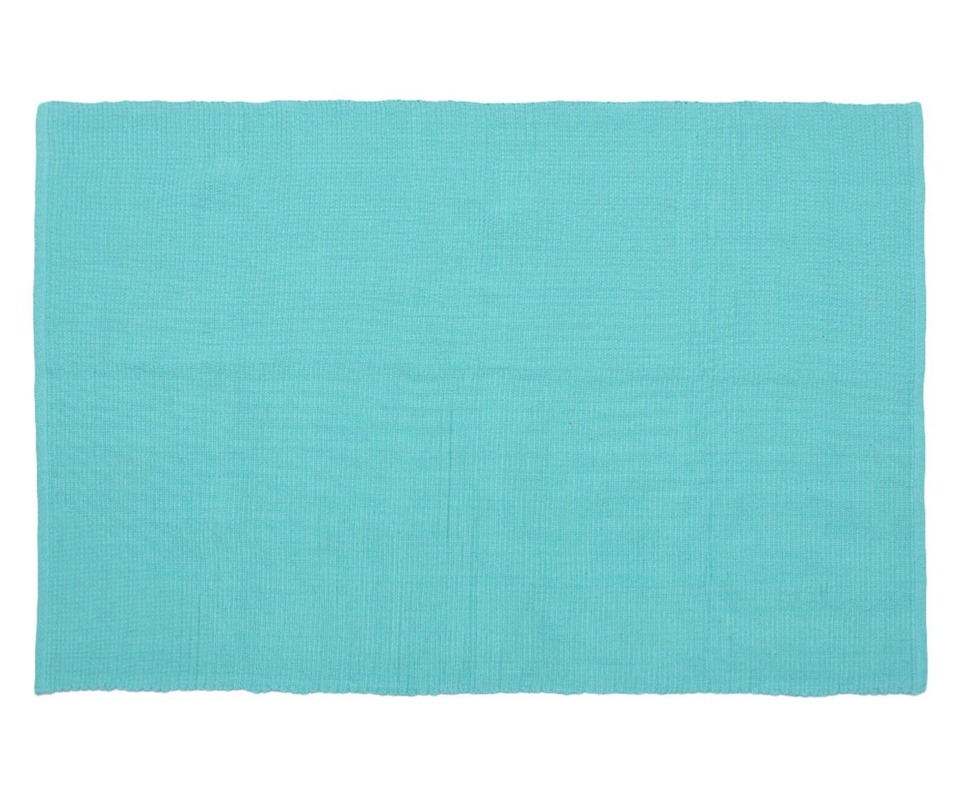 Tapete Indiano Mahavidya Turquesa - 120x180cm | Westwing.com.br