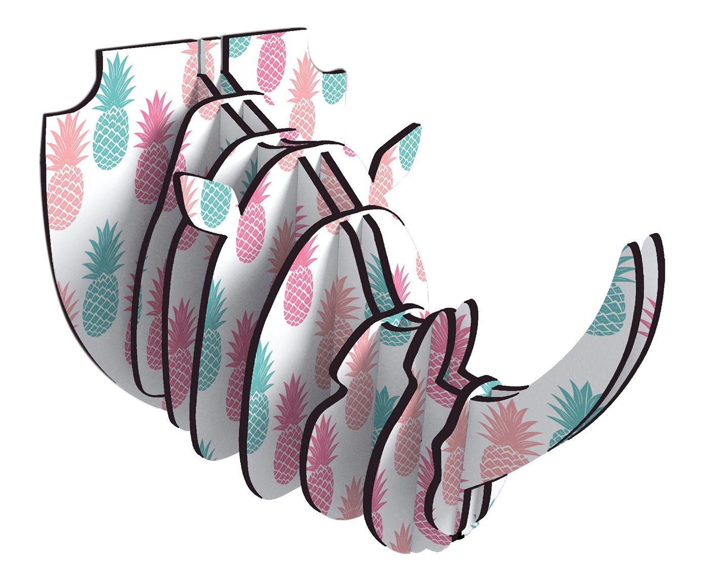 Adorno de Parede Rhino Iara   Westwing.com.br