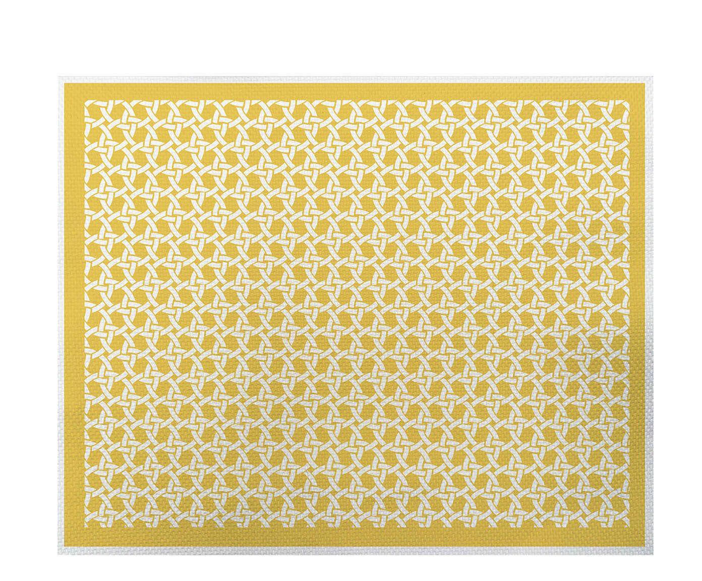 Lugar Americano Palha Amarelo - 35x45cm | Westwing.com.br