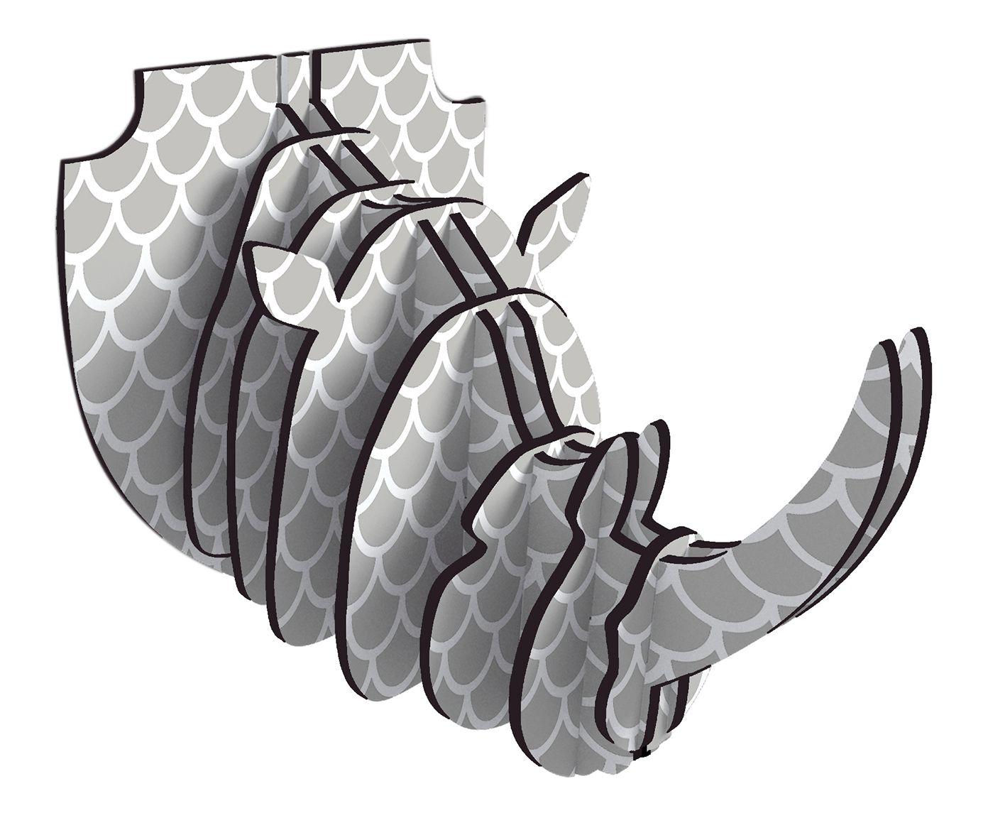 Adorno de Parede Rhino Íris | Westwing.com.br