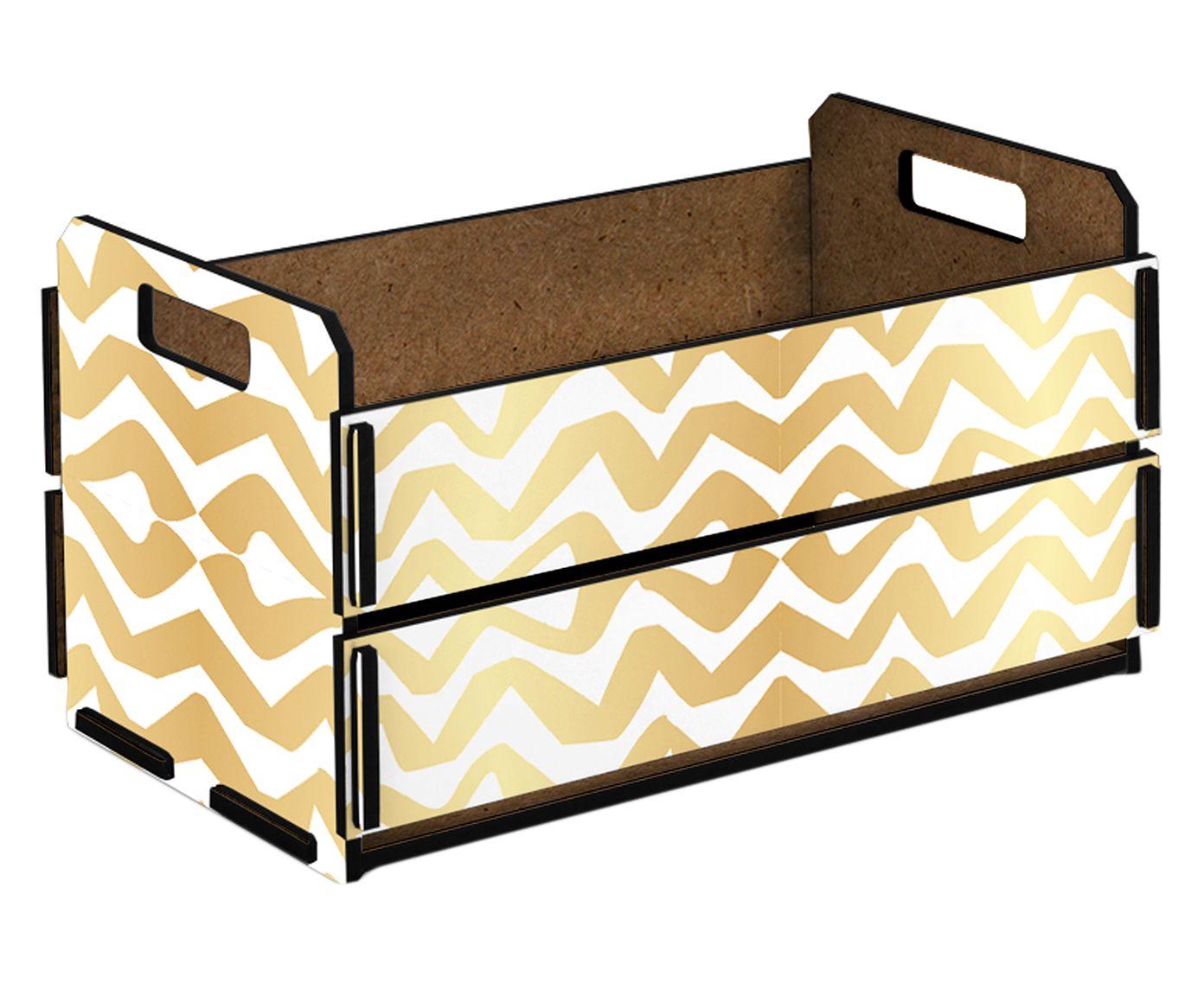 Caixote Organizador Rubi - 38x21cm | Westwing.com.br