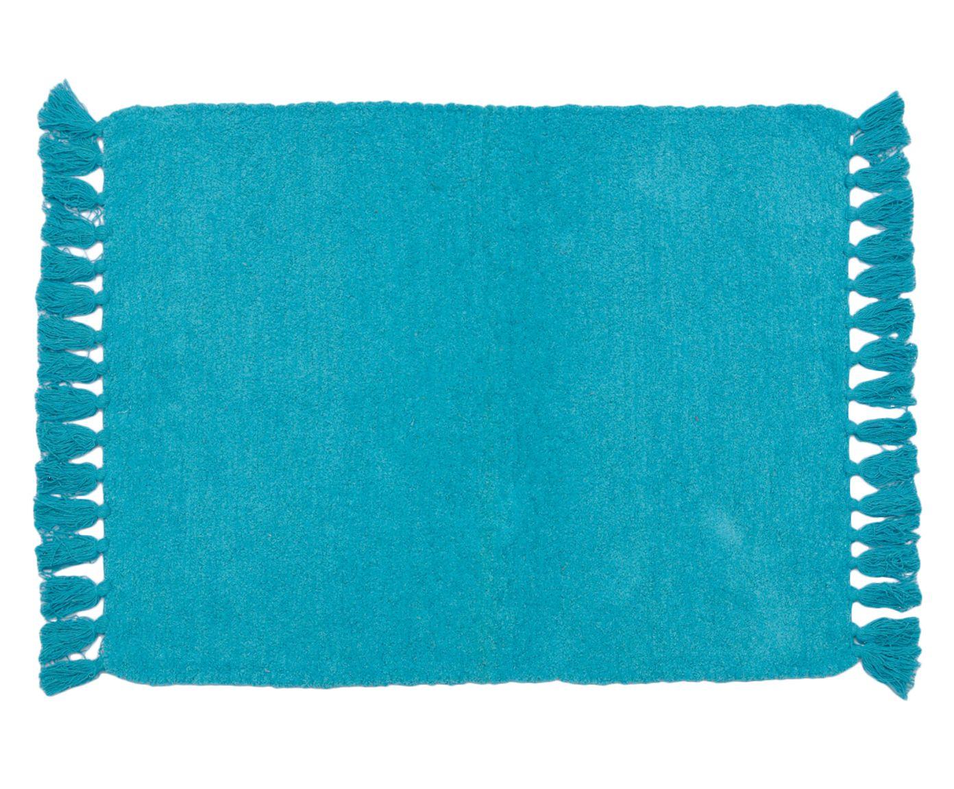 Tapete Indiano Vishnu Azul - 90x150cm   Westwing.com.br
