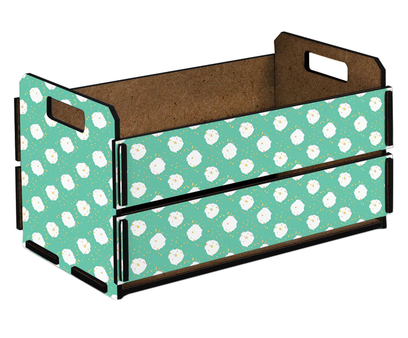 Caixote Organizador Nara - 38x21cm | Westwing.com.br