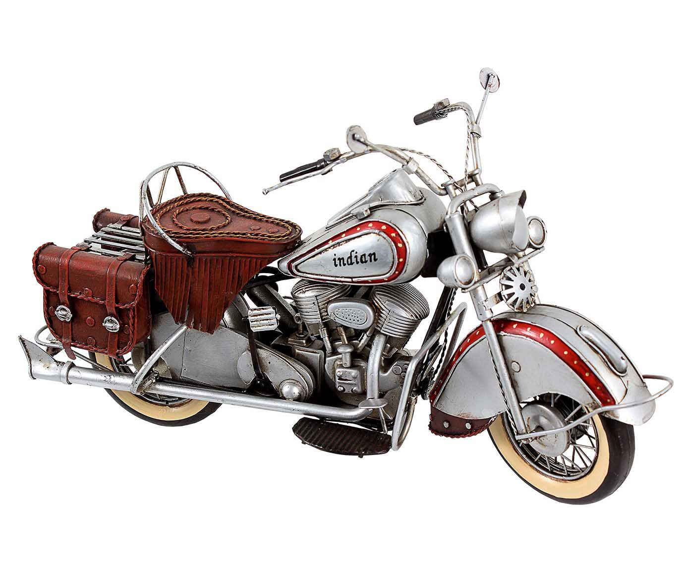 Miniatura Moto Indian Silver Oldway | Westwing.com.br